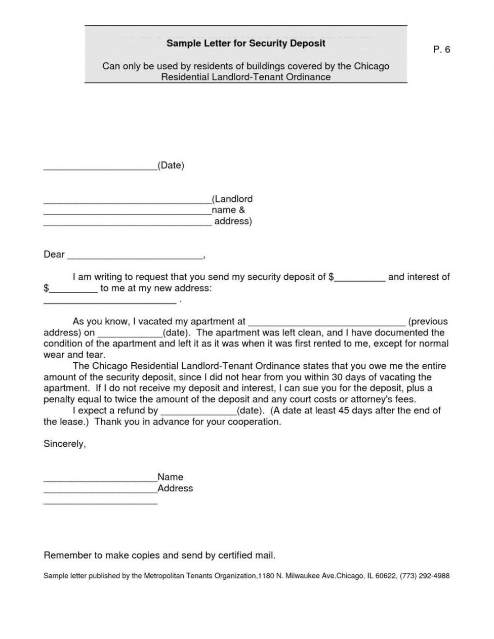 editable get our image of refund demand letter template in 2020 security deposit demand letter