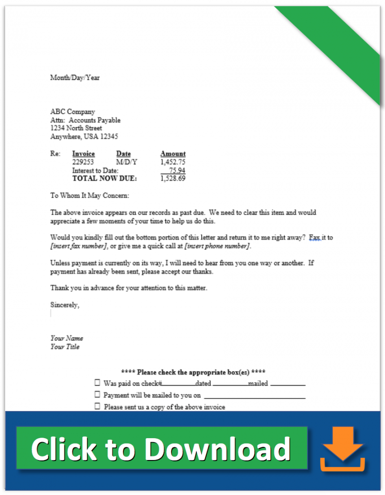 free collection letter samples  demand letter for payment and more debt collection demand letter doc