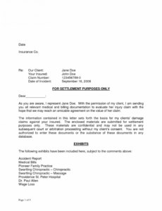 free i will tell you the truth about insurance car accident car accident demand letter template example