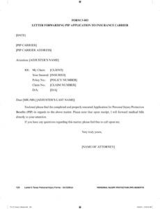 printable chapter 3 personal injury protection pip benefits and florida pip demand letter sample