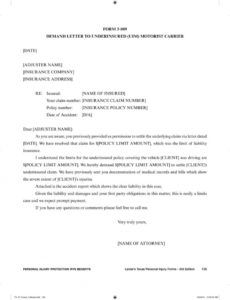printable chapter 3 personal injury protection pip benefits and florida pip demand letter sample pdf