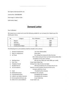 printable explore our sample of subrogation demand letter template for subrogation demand letter template word