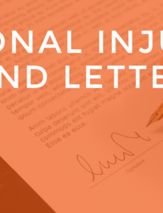 what your personal injury demand letter should look like pain and suffering demand letter excel