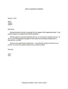 donor stewardship 4 ways to show appreciation  classy thank you letter after fundraising event doc