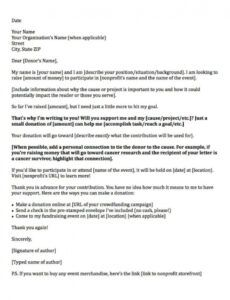 editable donation request letters asking for donations made easy! fundraising event donation letter example