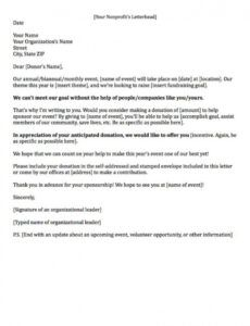 editable fundraising letters 7 examples to craft a great fundraising ask corporate fundraising letter