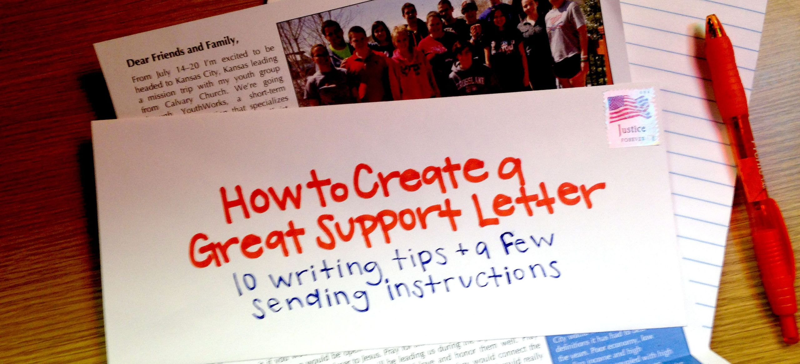 editable how to create a great support letter  youthworks missionary fundraising letter