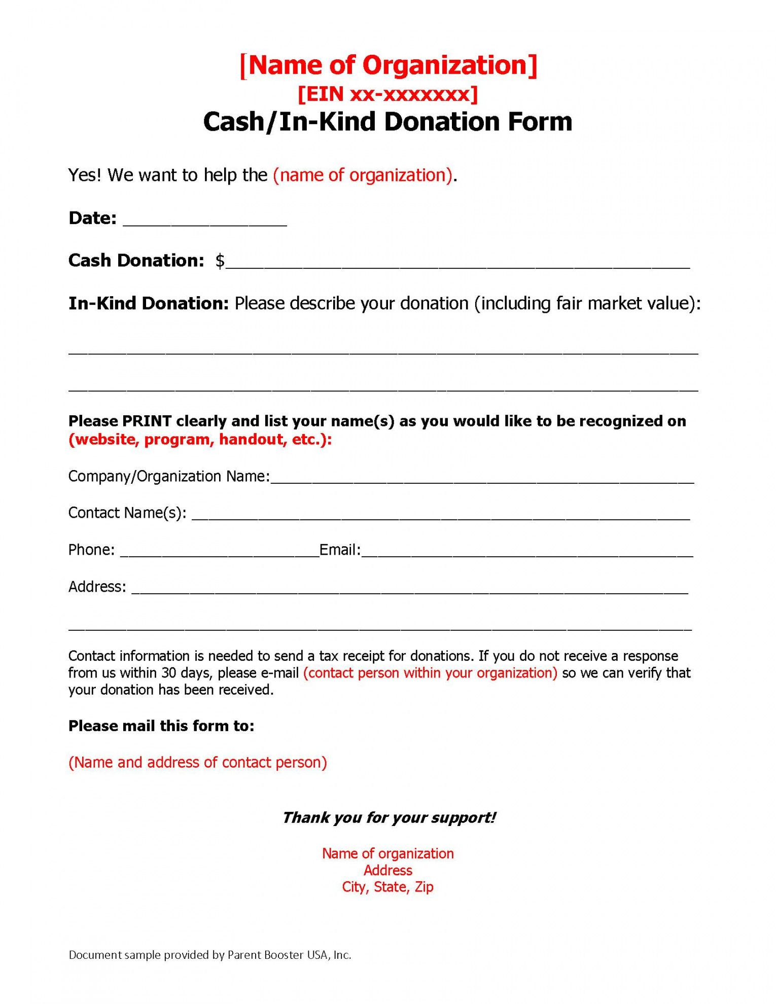 free donation solicitation letter template  parent booster usa booster club fundraising letter pdf