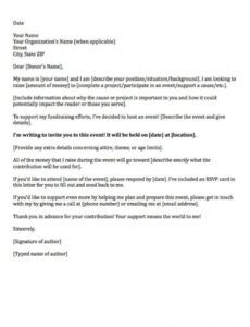 free fundraising letters 7 examples to craft a great fundraising ask corporate fundraising letter example
