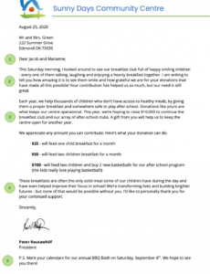 free how to write a fundraising letter  sumac corporate fundraising letter excel