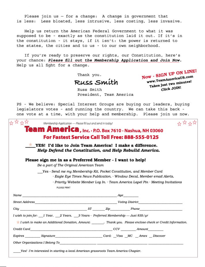 free sample political fundraising letter page 3  jeffrey dobkin political campaign fundraising letter example
