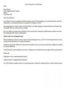 fundraising letters 7 examples to craft a great fundraising ask fundraising donation request letter sample