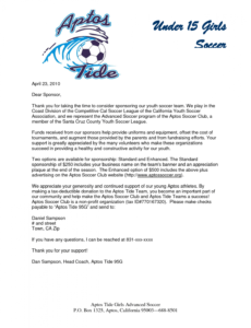printable 283945998ad376fdab79f462ac42d9d2 1275×1650 youth sports fundraising letter pdf