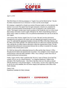 printable letter about march fundraising for shirk  florida politics political campaign fundraising letter