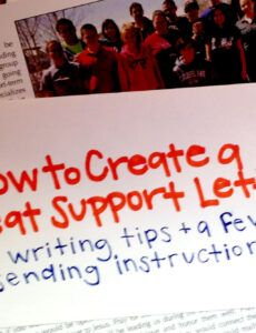 sample how to create a great support letter  youthworks youth fundraising letter pdf