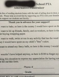 sample this may be the best pta fundraising letter we've ever seen parent council fundraising letter doc