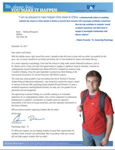 you make it happen appeal  fundraising letter donation parent council fundraising letter example