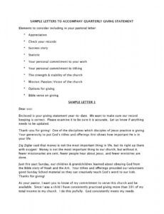 appreciation letter to church members doc example