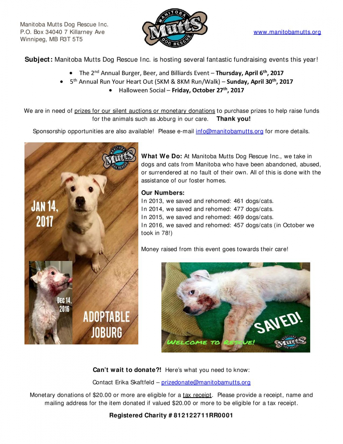 best animal rescue donation request letter excel