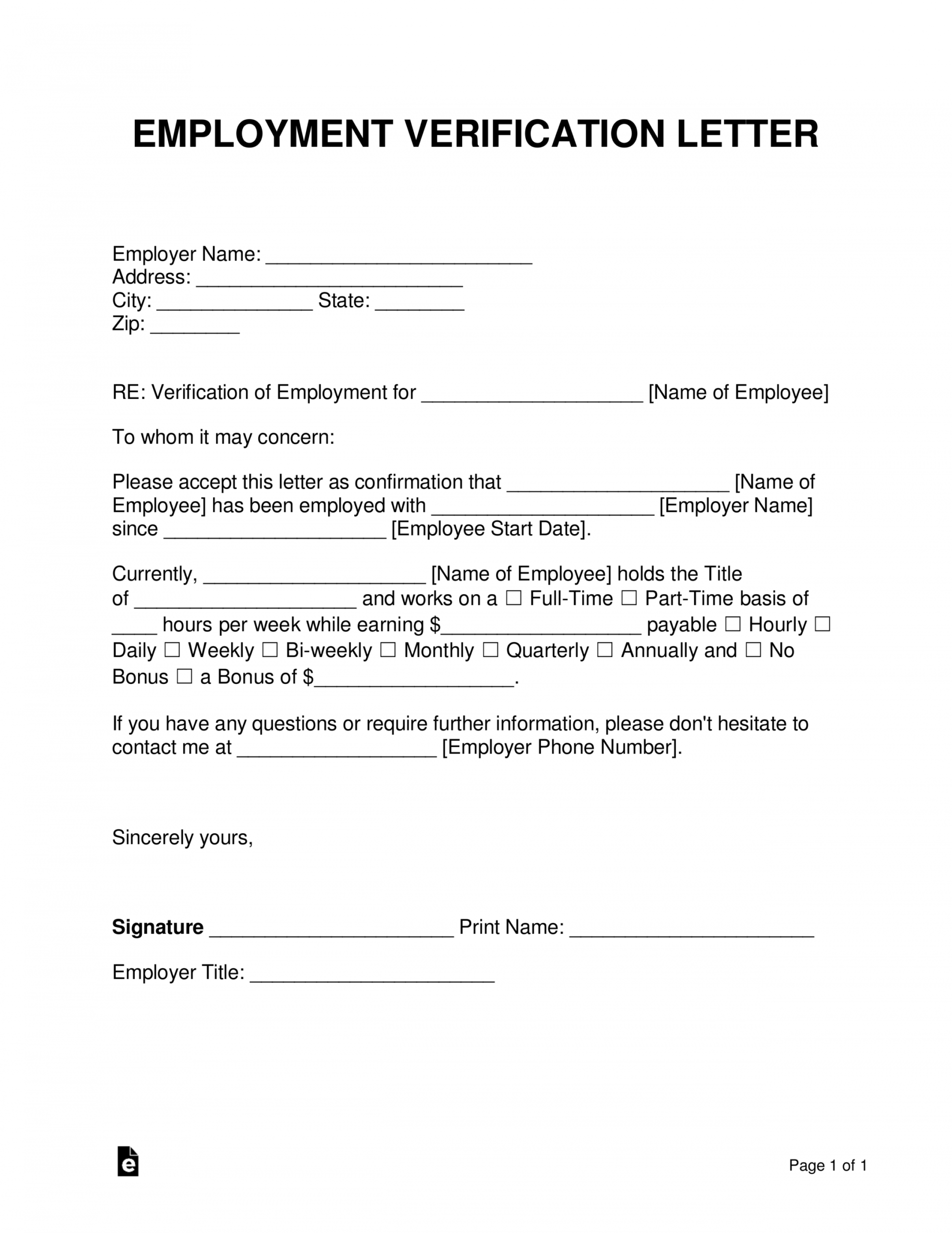 costum income verification letter for self employed  sample