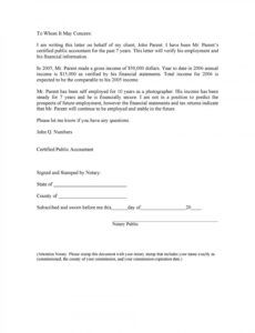 editable employment verification letter for independent contractor pdf sample