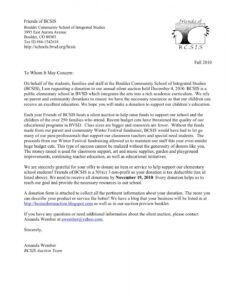 editable silent auction donations letter doc example