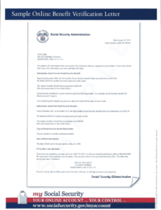 editable social security number verification letter excel example