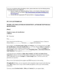 editable voluntary demotion letter template doc example