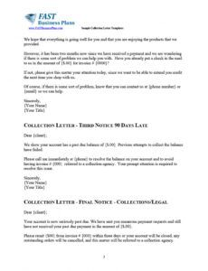 free collections letter from attorney pdf sample