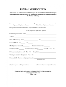 free landlord tenant verification letter pdf