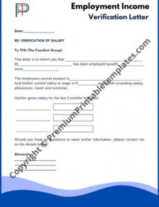printable employment verification letter for independent contractor pdf
