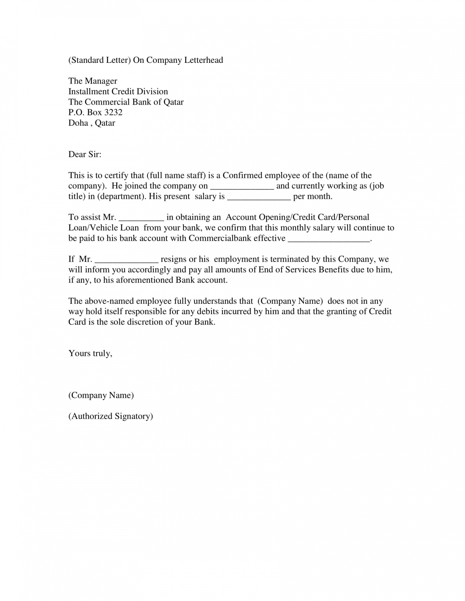 professional employment verification letter for green card excel example
