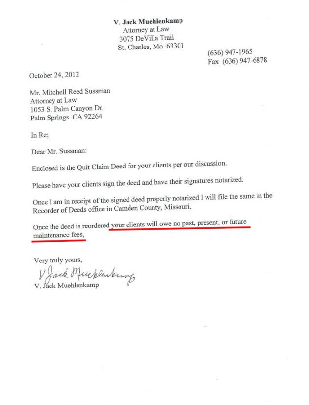 Editable Timeshare Contract Cancellation Letter Template Pdf