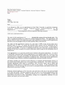 Best Employment Counter Offer Letter Template Excel Example