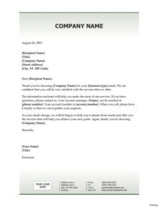 Free Welcome To My Business Letter Template Pdf