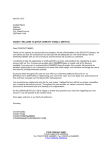 New Tenant Welcome Letter Template Doc
