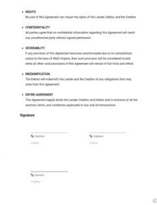 Professional Debt Repayment Letter Template  Sample