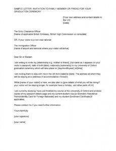 Professional Immigration Letter Of Support For A Friend Template  Example
