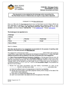 Attorney Engagement Letter Template Pdf Sample