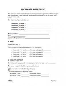 Printable Roommate Eviction Letter Template  Example