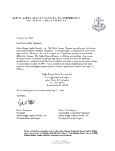 Costum Sorority Recommendation Letter Template Pdf Example