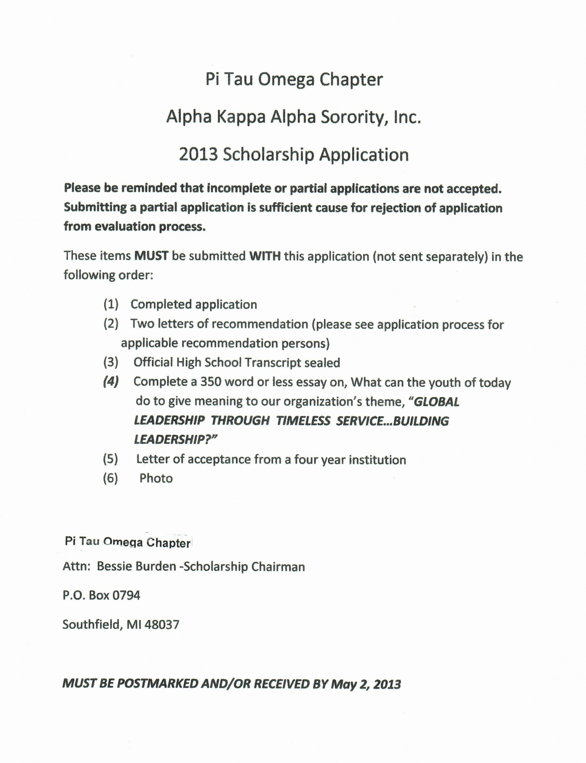 Editable Sorority Recommendation Letter Template Excel