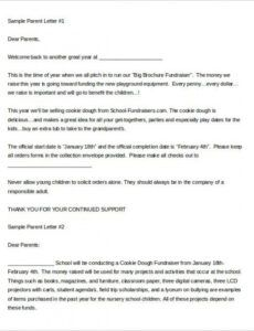 Free Cheerleading Donation Letter Template Word Sample