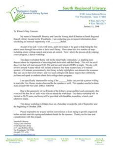 Professional Car Donation Letter Template  Example